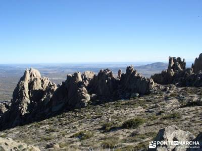 El Yelmo de la Pedriza;rutas senderismo andalucia senderos del sur senderos locales